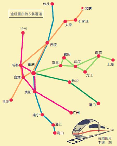 银川郑州高铁路线图